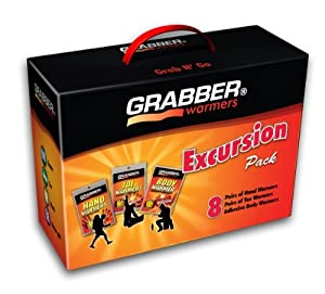 Shape Up, Training Grabber Warmers Grabber Excursion Multi-Pack Warmer Box, 8 Pair...