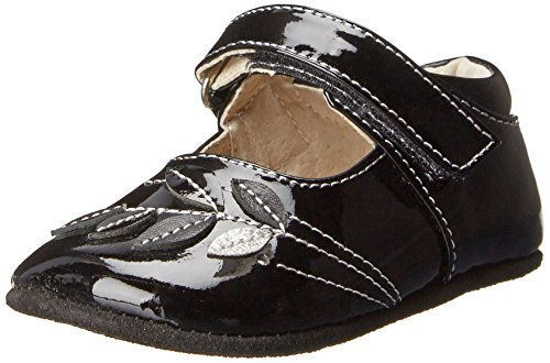 See Kai Run Maya Mary Jane (Infant/Toddler),Black Patent,0-6 Months (Infant) front-418513