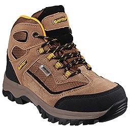 Hi-Tec Childrens/Kids Hillside WP Walking Boots (7 US) (Brown)