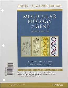 molecular biology of gene watson 7th edition pdf free
