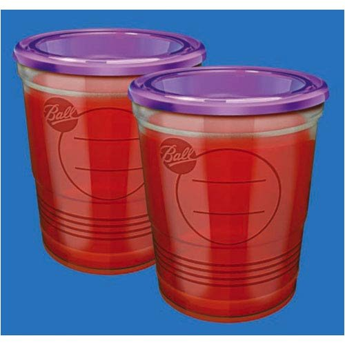 Buy 8 oz Ball Plastic Freezer Jars