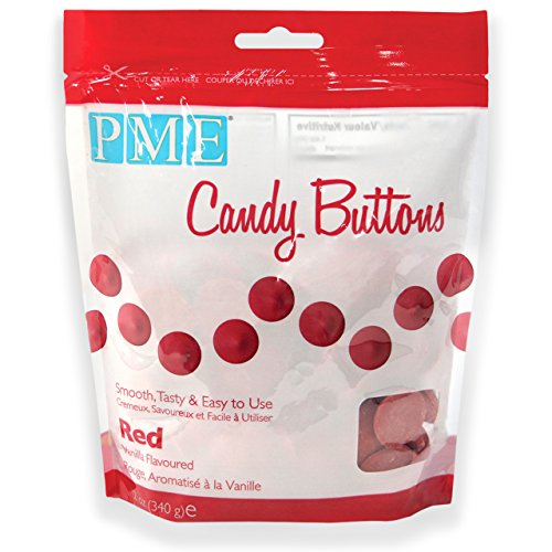 pme-candy-buttons-red-340-g