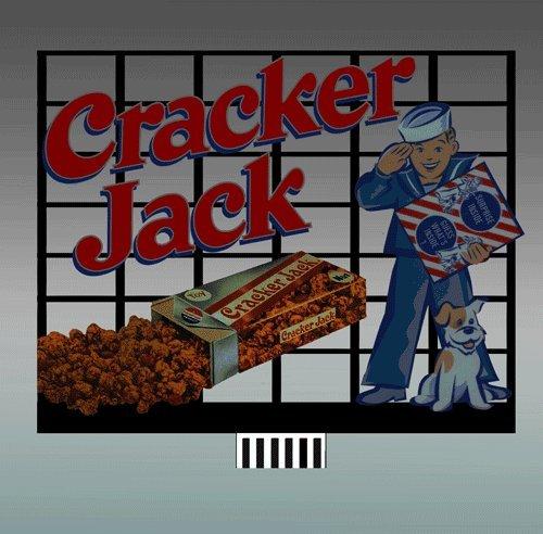 Small Model Cracker Jack Animated Lighted Billboard