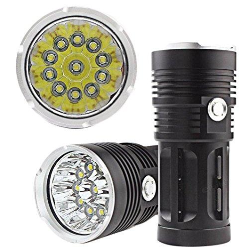 Oyedens-28000lm-11-X-Cree-XM-L-T6-Jagd-Taschenlampe-LED-4-X-18650-Lampe-Taschenlampe-Taschenlampe