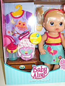 Buy Hasbro Exclusive Baby Alive Dress N Slumber Drink
