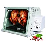 Ronco Showtime Standard Rotisserie and Barbeque Oven White ~ Ronco