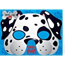 Santoro Childs Greeting Card and Costume Mask, Dalmation (SMB015)