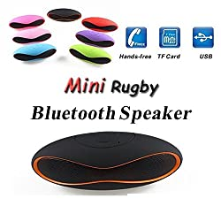 Zync X207 COMPATIBLE MINI Bluetooth Multimedia Speaker System with FM / Pen Drive / SD Card - Rugby Mini X6