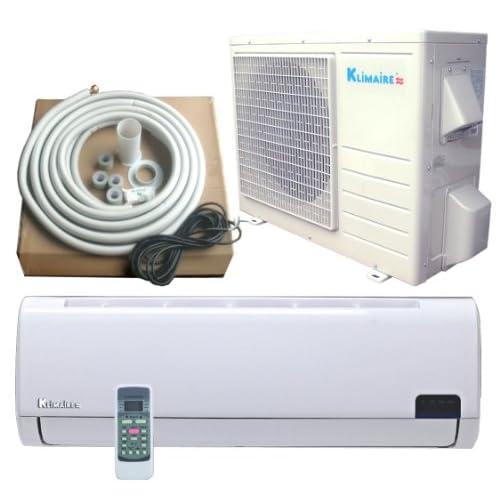 36,000 Btu Klimaire 15 SEER DC Inverter Ductless Mini split Heat Pump Air conditioner