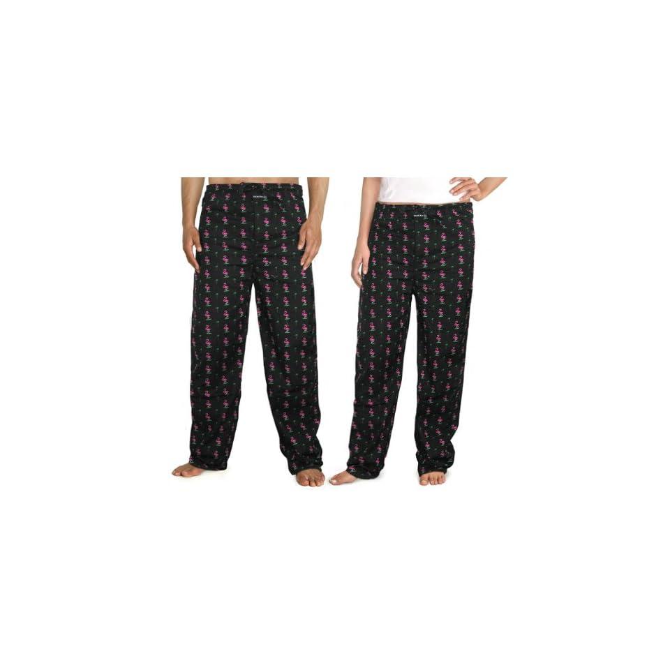 Pink Flamingos Flamingo Pajama Lounge Pants Lg Size Large