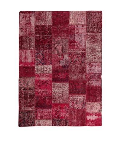 Design By Gemeenschap Loomier tapijt Revive Vintage Patch 170 x 237 cm bordeaux