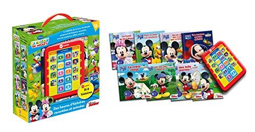 La maison de Mickey : Coffret avec 8 livres d'aventures et le me reader