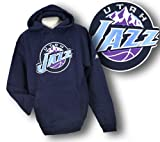 Utah Jazz NBA Men's Sewn Hoodie, Hooded Sweatshirt, Navy Reviews