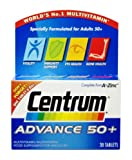 Centrum Advance 50 Plus - Pack of 30