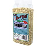 Bob's Red Mill Organic Quick Cook Steel Cut Oats, 22-Ounce (Pack of 4)
