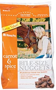 Manna Pro 0092944236 Carrot and Spice Horse Treats, 5-Pound