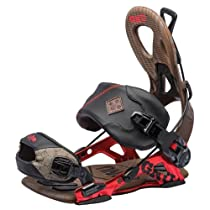 GNU 2014 Choice Snowboard Bindings (red, XL)
