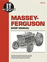 Massey Ferguson Shop Manual Models MF135 MF150 & MF165 (Manual Mf-27)
