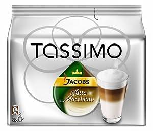 Tassimo Jacobs Krönung Latte Macchiato, 2er Pack (2 x 8 Portionen) - Auslaufartikel
