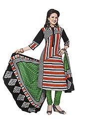 Aarvi Fahion Ethnicwear Women's Dress Marerial(Rangresham1821_Multicoloured_Free Size)