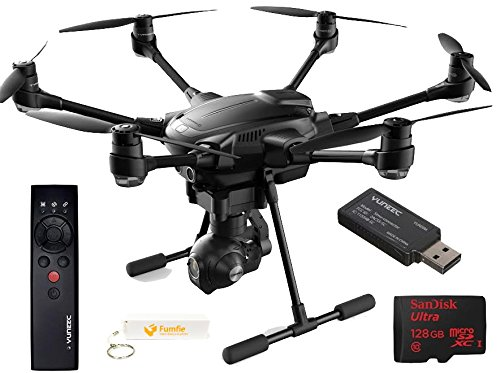 Yuneec Typhoon H Top Flight Bundle come with Wizard Wand + Flight Sim & Sandisk 128Gb Micro SDXC Card