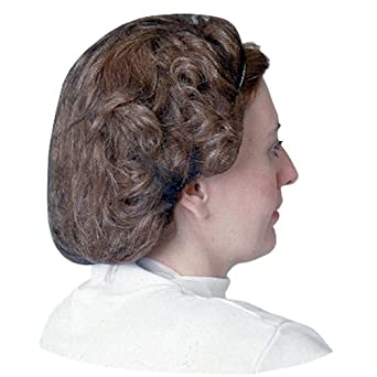 "Impact 7386W21 Nylon Honeycomb Hair Nets, 21"" Diameter, White (10 Bags of 100)"