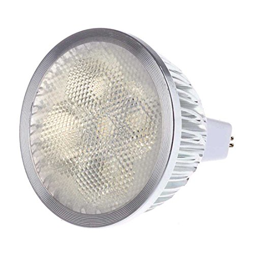 Sungetace Mr16 4W Led Spotlight Bead Surface Lens Bulb Lamp Equivalent To 50W Halogen Energh Saving Brightness Warm White