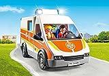 Playmobil - 6685 - Ambulance avec gyrophare et sirne