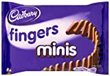 Cadbury Mini Chocolate Fingers 40 g (Pack of 24)