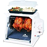 Ronco Showtime ST4002WHDRM White Rotisserie And Barbeque Oven with Bonus Accessory Kit