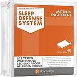 Sleep Defense System - Waterproof / Bed Bug Proof Mattress Encasement - 78-Inch by 80-Inch, King