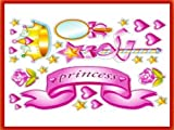 Main Street Wall Creations Jumbo Stickers - Princess