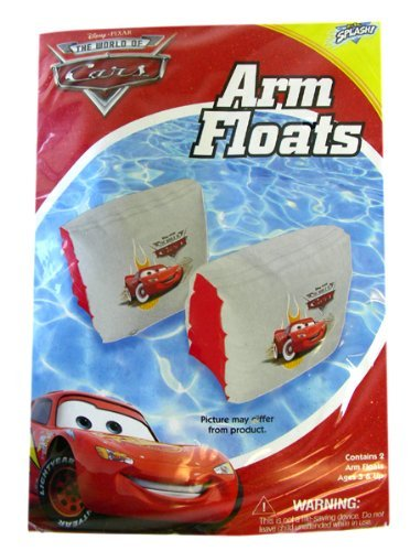 Disney The World Of Cars Inflatable Arm Floats - 1