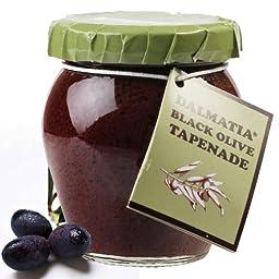 Black Olive Spread - Tapenade - 1 jar, 7 oz