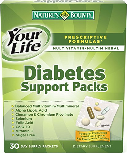 Nature's Bounty Diabetes Support Pack, 30-Count