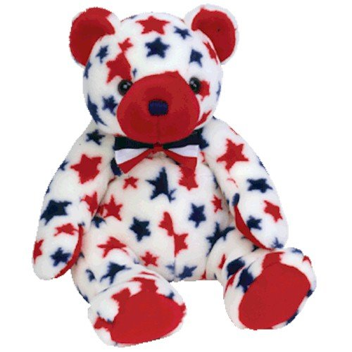 Ty Beanie Buddies Red - Bear