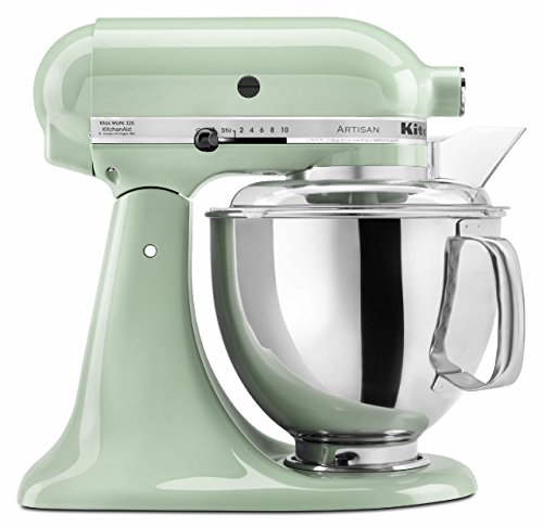 Great Features Of KitchenAid KSM150PSPT 5-Qt. Artisan Series with Pouring Shield - Pistachio