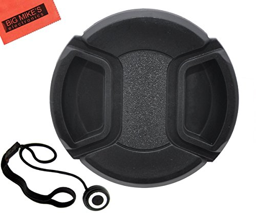 55mm Universal Snap-On Lens Cap For Sony Digital SLR Cameras Which Have Any Of These Sony Lenses 16-70mm, 18-55mm A-Mount, 18-70mm, 28-70mm, 55-200m