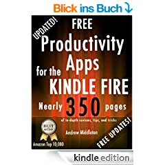Free Productivity Apps for the Kindle Fire (Free Kindle Fire Apps That Don't Suck)