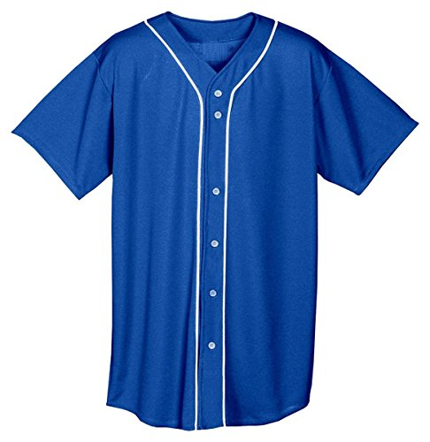 Full-Button Baseball Top