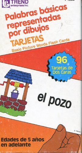 Palabras Basicas Representadas Por Dibujos ~ Basic Picture Words Flash Cards - 1