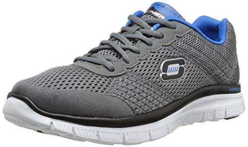 skechers-flex-advantage-covert-action-herren-sneakers-grau-ccbl-43-eu