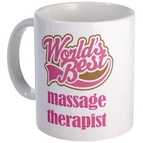 Cafepress Worlds Best Massage Therapist Mug - Standard