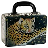 Leopard Metal Lunch Box