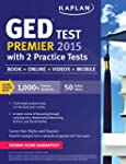 Kaplan GED Test Premier 2015 with 2 P...