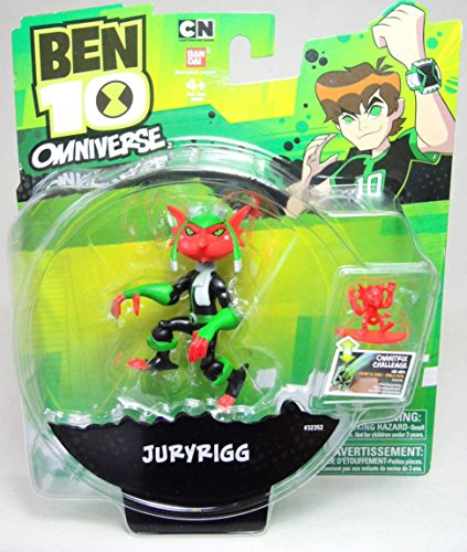 Ben 10, Omniverse Action Figure, Juryrigg, 3 Inches