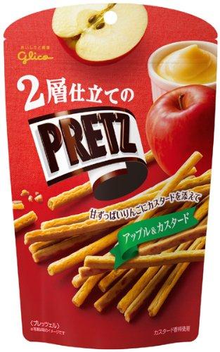 40g10 pieces Prydz&custard apple of Ezaki Glico two-layer tailor...