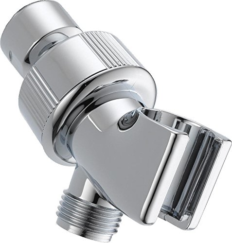 Delta Faucet U3401-PK Universal Showering Components Adjustable Shower Arm Mount, Chrome (Shower Heads Handheld Holder compare prices)