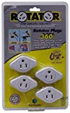 ROTATOR GR7100 Swivel Socket  Power Adaptor, 4-Pack