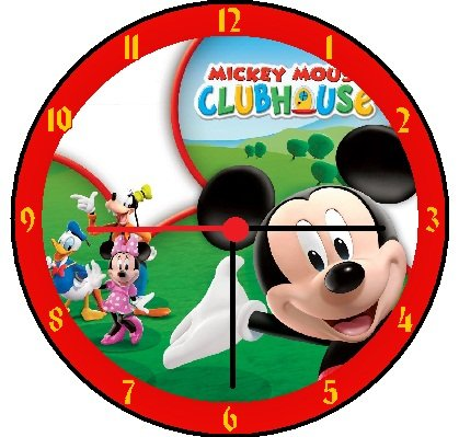 Mickey Mouse Wall Clock Mickey Mouse Clubhouse Wall